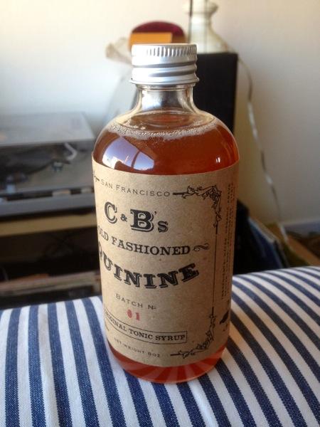 Quinine Bottle